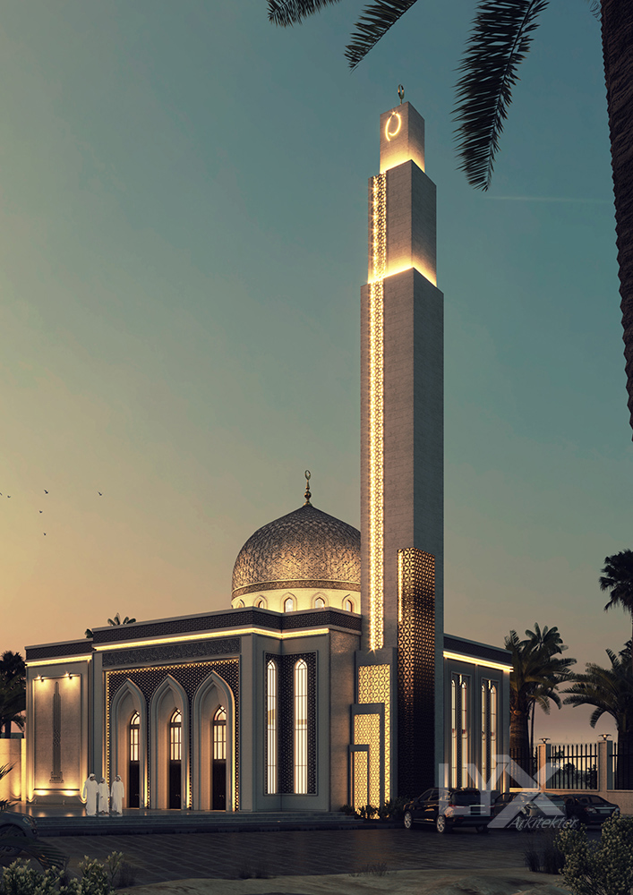 Sharjah  Mosque 3