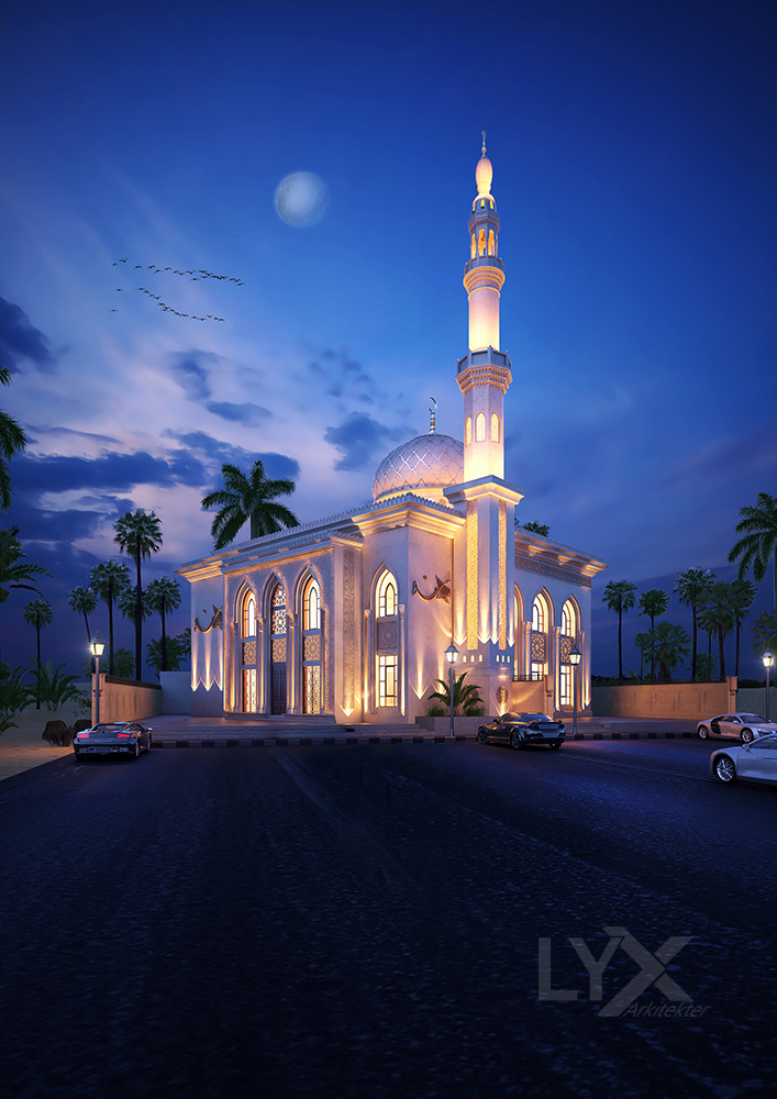 Sharjah  Mosque 4