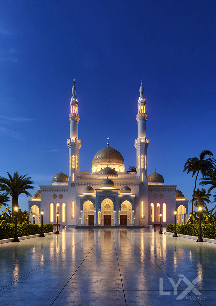 Belresheed Mosque - Sabiha Bakhit